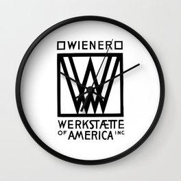Wiener Werkstaette of America Wall Clock