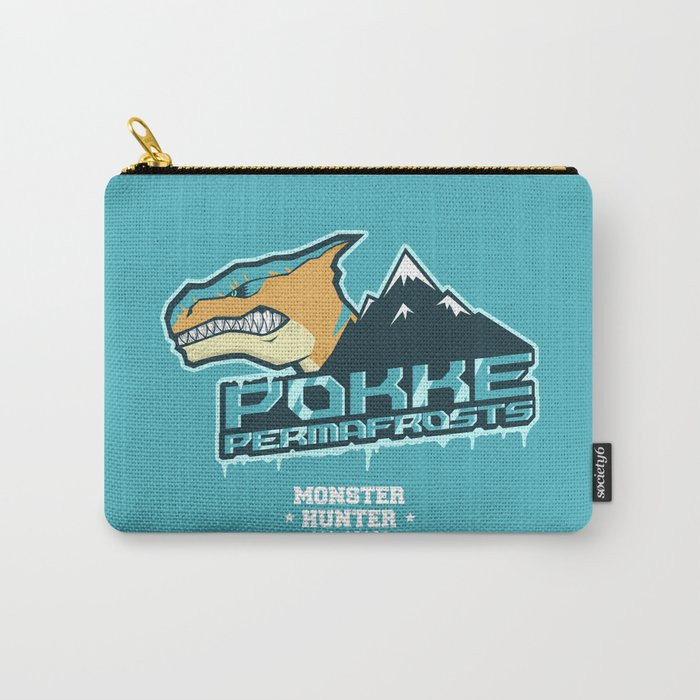 Monster Hunter All Stars - Pokke Permafrosts  Carry-All Pouch