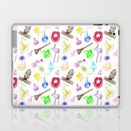 Magic symbols Laptop & iPad Skin