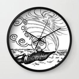 Springtime Luls Wall Clock