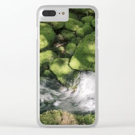 Feel the Wetness in the Air Clear iPhone Case