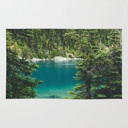 Garibaldi Lake Rug