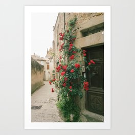 French Postcard Art Print