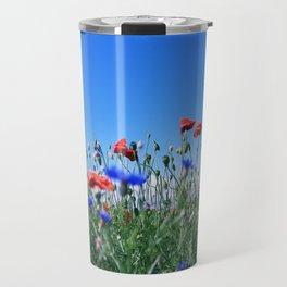 poppy flower no11 Travel Mug