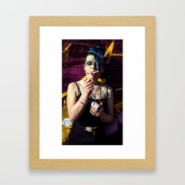 Slave to Substance Framed Art Print