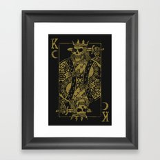 Suicide King Framed Art Print