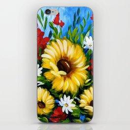 Crimson Sunshine iPhone Skin