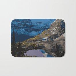 Mt. Assiniboine Provincial Park Bath Mat