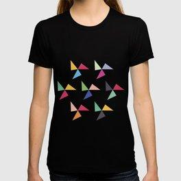 Colorful geometric pattern III T-shirt