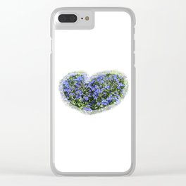 Field of Blue Clear iPhone Case