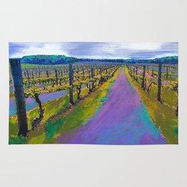 On The Michigan Wine Trail/Chateau De Leelanau Rug