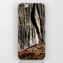 tree bark and wood iPhone Skin