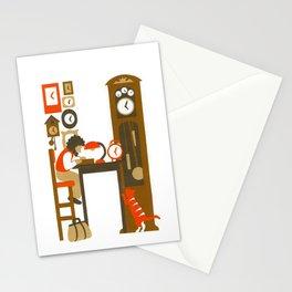 H as Horloger (Watchmaker) Stationery Cards