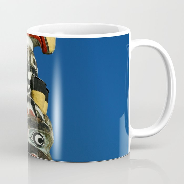 A Colorful Totem Coffee Mug