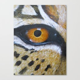 Eye See You Leopard Eye Canvas Print