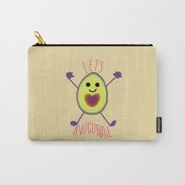 Let's Avocuddle AVOCADO Carry-All Pouch