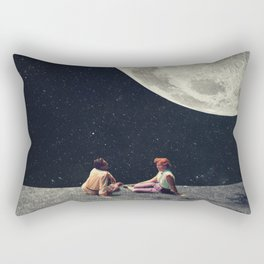 I Gave You the Moon for a Smile Rectangular Pillow