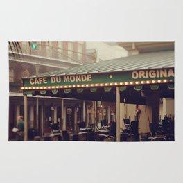 Foggy Cafe Du Monde Rug