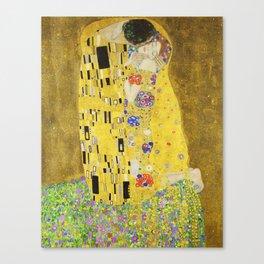 The Kiss - Gustav Klimt, 1907 Canvas Print