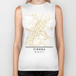 VIENNA AUSTRIA CITY STREET MAP ART Biker Tank