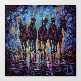 Roaming Free Canvas Print