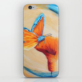 Sweet wonder aqua | Douce merveille aqua iPhone Skin