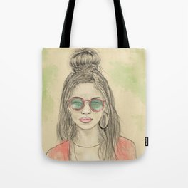 Insomnia colorized Tote Bag