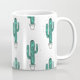 Cactus Pattern Coffee Mug