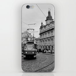 Cobbled Street in Prague iPhone Skin
