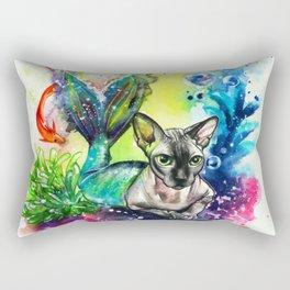 Moomin the purrmaid Rectangular Pillow