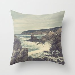 'Sea as far as you can see' Throw Pillow