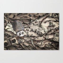 The Reach (Landscape) Canvas Print