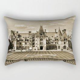 Biltmore Mansion Estate Rectangular Pillow