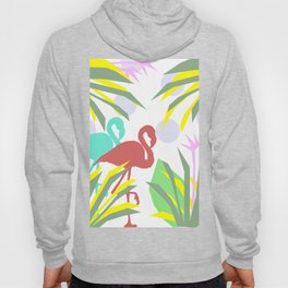 Flamingo jungle Hoody