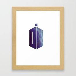 whoniverse Framed Art Print