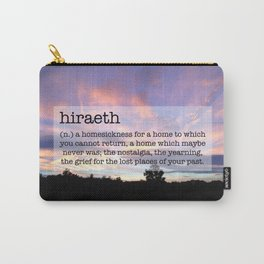 Hiraeth Homesick Sunset Carry-All Pouch