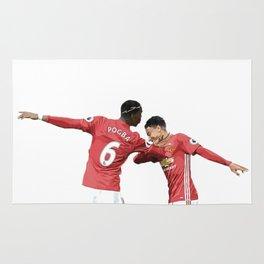 Pogba Lingard - Manchester United - Dab Rug