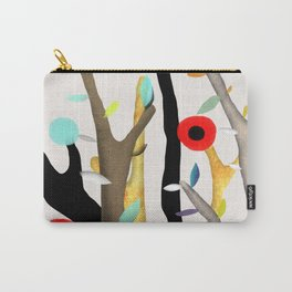 Woodland Poppy Botanical Carry-All Pouch