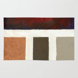 Textured Cubism -Modern Art - Office Art - Hospitality Art Rug
