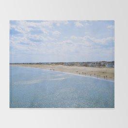 Seabrook Beach Day Throw Blanket
