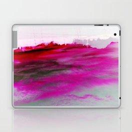 Purple Clouds Red Mountain Laptop & iPad Skin