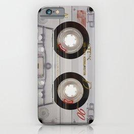 Cassette Transparent iPhone Case