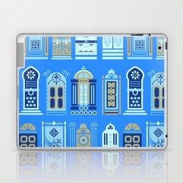 Moroccan Doors – Cornflower Blue Palette Laptop & iPad Skin