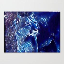 The Mountain Lion Canvas Print