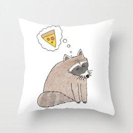 Pizza Dreams Throw Pillow