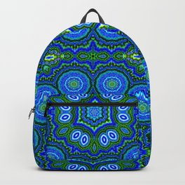 Peacock Pattern Backpack