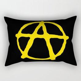 Anarcho-Capitalism Rectangular Pillow