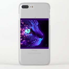 Hunter of the Night Clear iPhone Case