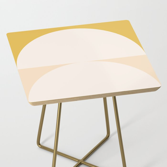 Abstract Geometric 01 Side Table
