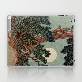 Saruhashi Bridge in Kai Province Japan Laptop & iPad Skin
